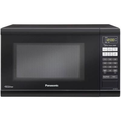 Panasonic Family Size 1 2 Cu Ft 1200 Watt Countertop Microwave In Black Nn Sn651b The Ho With Images Countertop Microwave Oven Countertop Microwave Panasonic Microwave