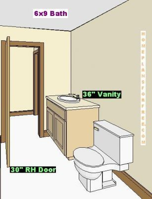 9x6 Bathroom Layout Hall Bath Ideas Bathroom Layout
