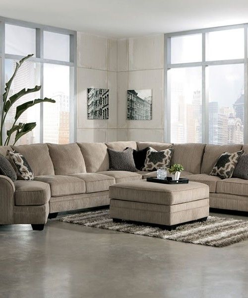 Extra Large Fabric Sectional Sofa Гостиная