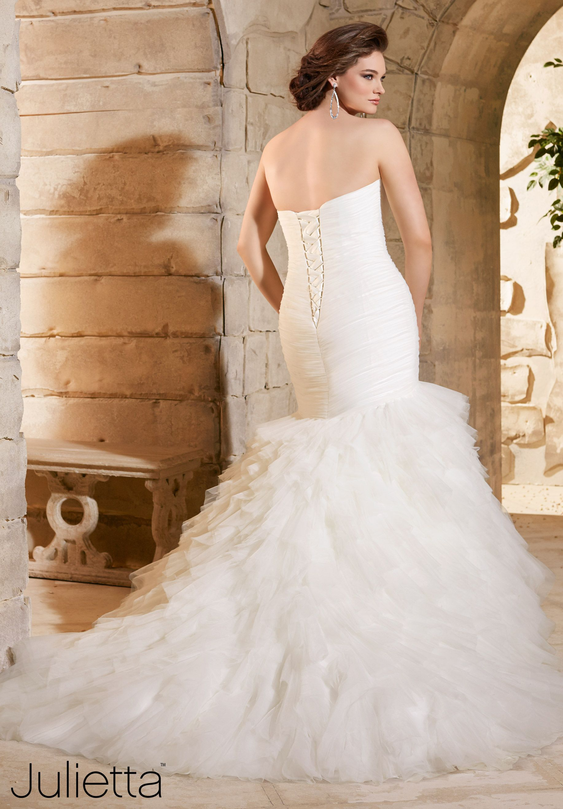 Come in to see this beautiful mori lee gown plus size