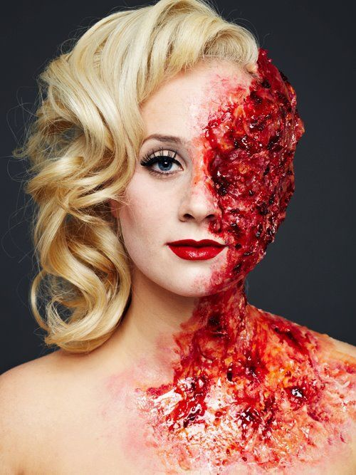 glam and gore sfx tumblr - Google Search | Makeup Final ...