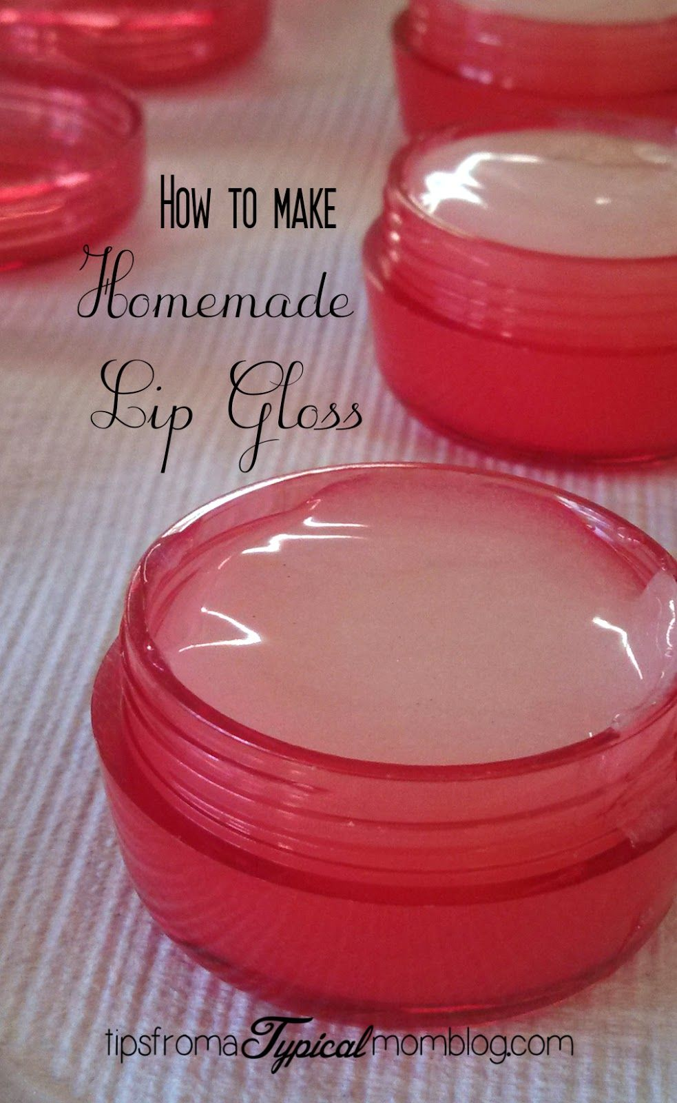 How To Make Homemade Lip Gloss With Kool Aid Tips From A Typical Mom Lip Gloss Recipe Gloss Diy Diy Lip Gloss