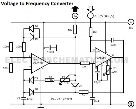 Awe Inspiring Voltage To Frequency Converter Circuit Diagram Tec Elect Circuit Wiring 101 Archstreekradiomeanderfmnl