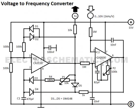 Stupendous Voltage To Frequency Converter Circuit Diagram Tec Elect Circuit Wiring Cloud Favobieswglorg
