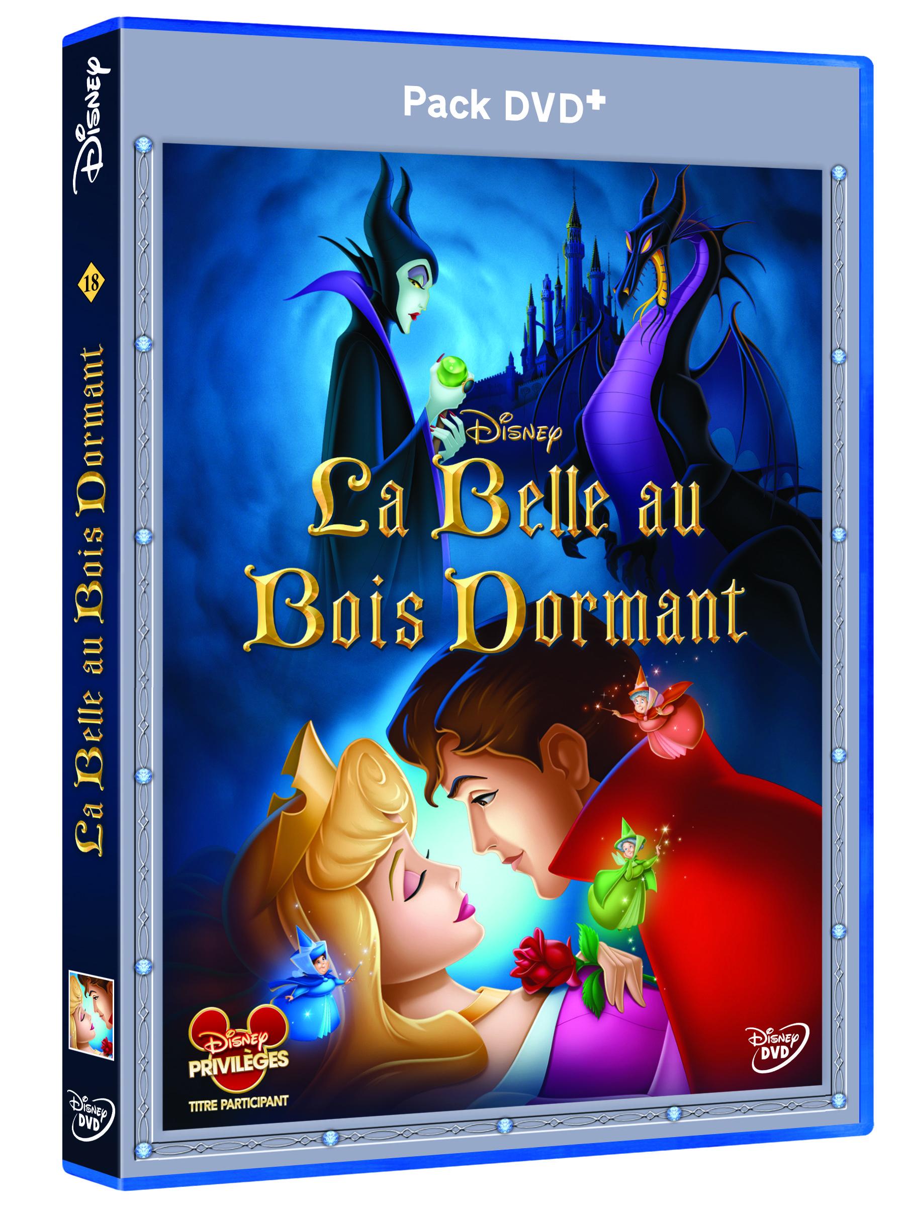 3D DVD+ La Belle au bois Dormant