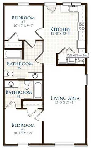 Floor Plans Of Village Of Meadowview Apartments In Boone Nc Floor Plans Student Apartment Sims House