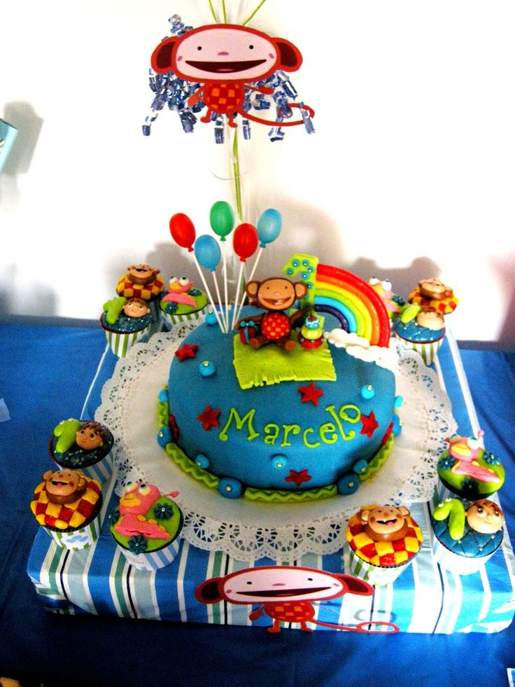 Baby TV themed cake Birthday ideas Pinterest Cake