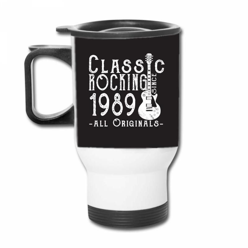 rocking since 1989 copy Travel Mug