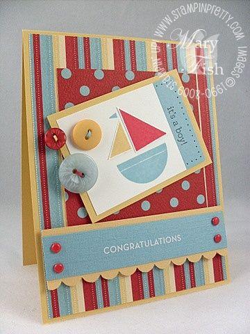 Handmade Congats Set Sail Card