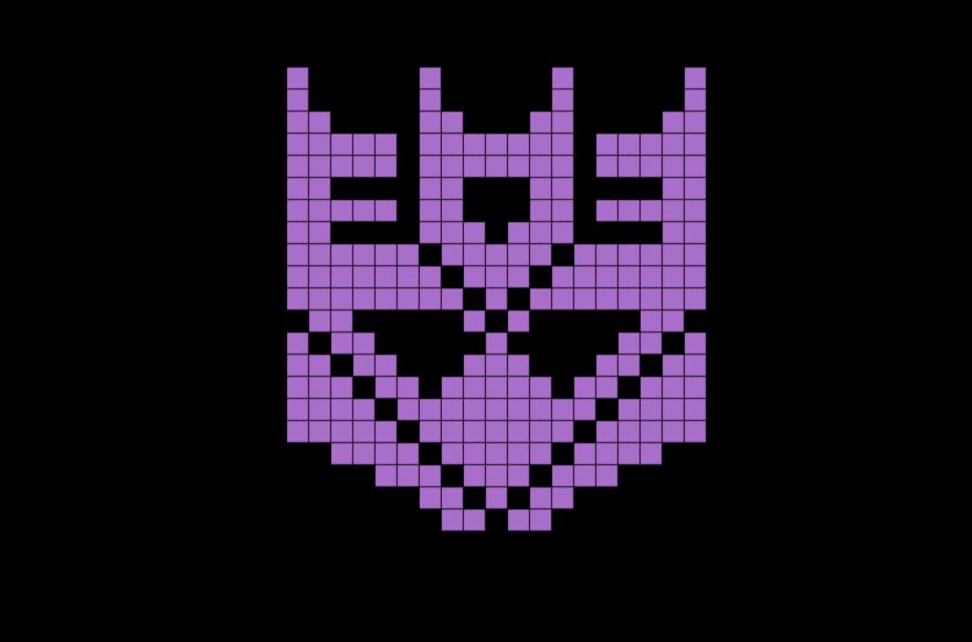 Decepticons Pixel Art Pixel Art Art Pixel Beads