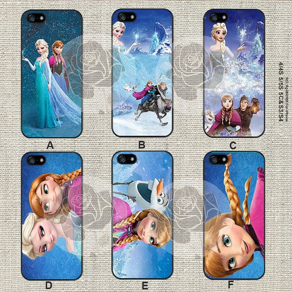 Disney frozen iPhone 5s case iPhone 5C Case iPhone 5 by CrazyGift, $8.99. I loveeee A