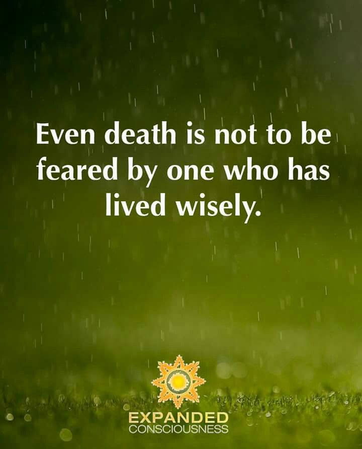 Live wisely