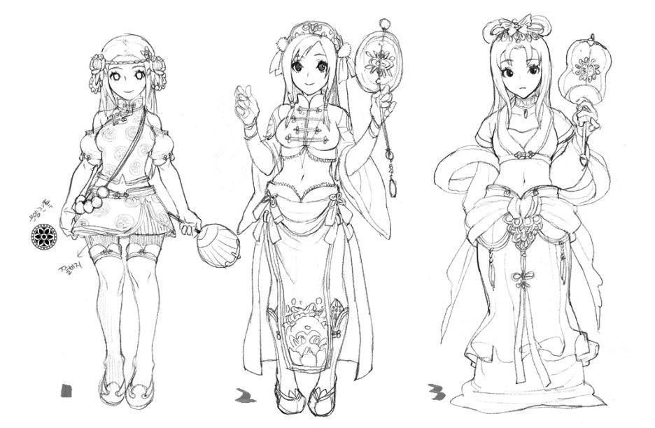 2d Character Design Tutorials : Pin by katia bourykina on jiyun chae kkuem pinterest