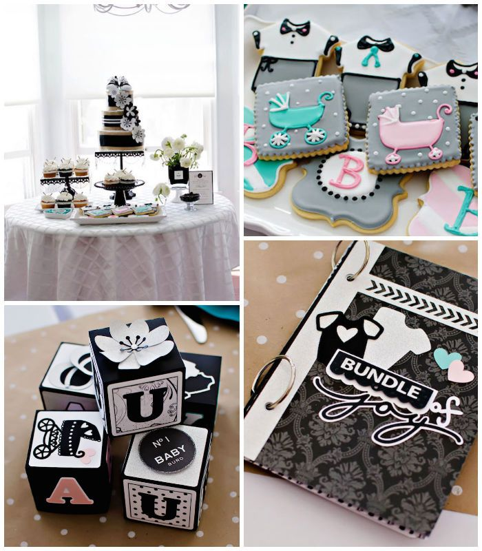 Coco Chanel Inspired Birthday Party Via Karas Party Ideas