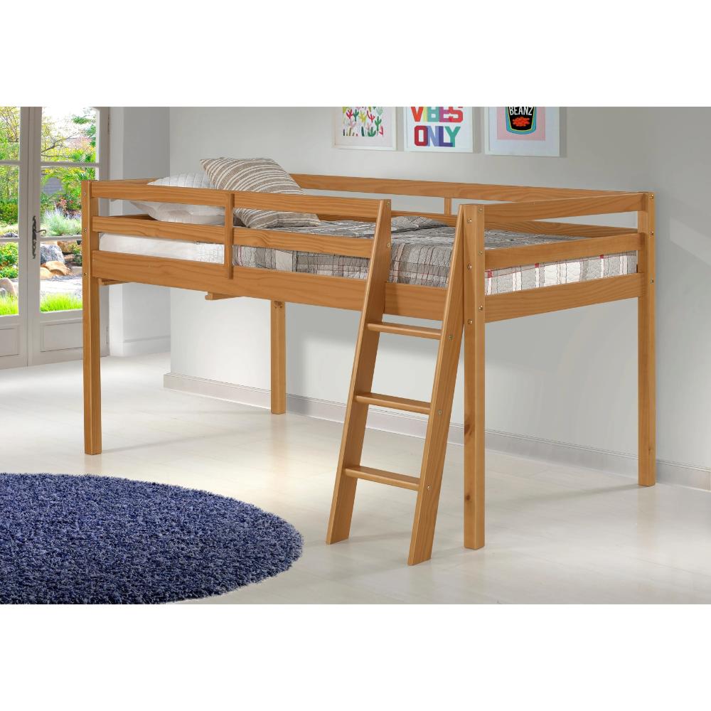 Roxy Solid Wood Twin Junior Loft Bed Junior Loft Beds