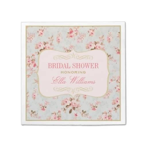Bridal Shower Plates And Napkins Purple