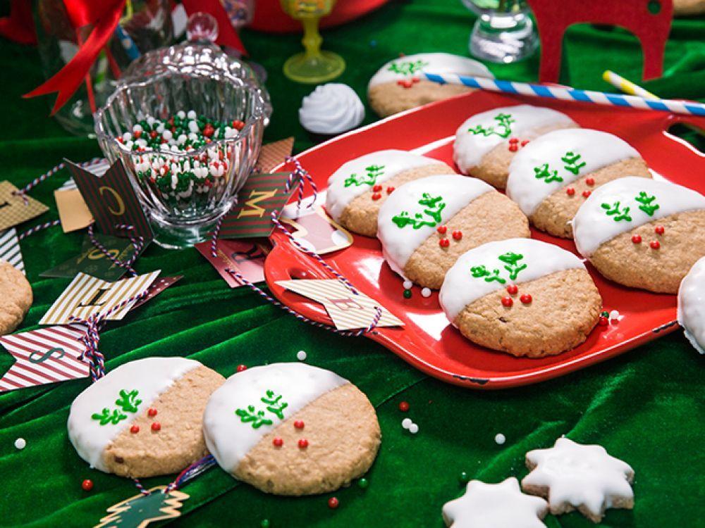 聖誕燕麥曲奇 Christmas Oatmeal Cookies #DDCrecipe: http://www.daydaycook.com/recipe/tc/details/38191/index.html