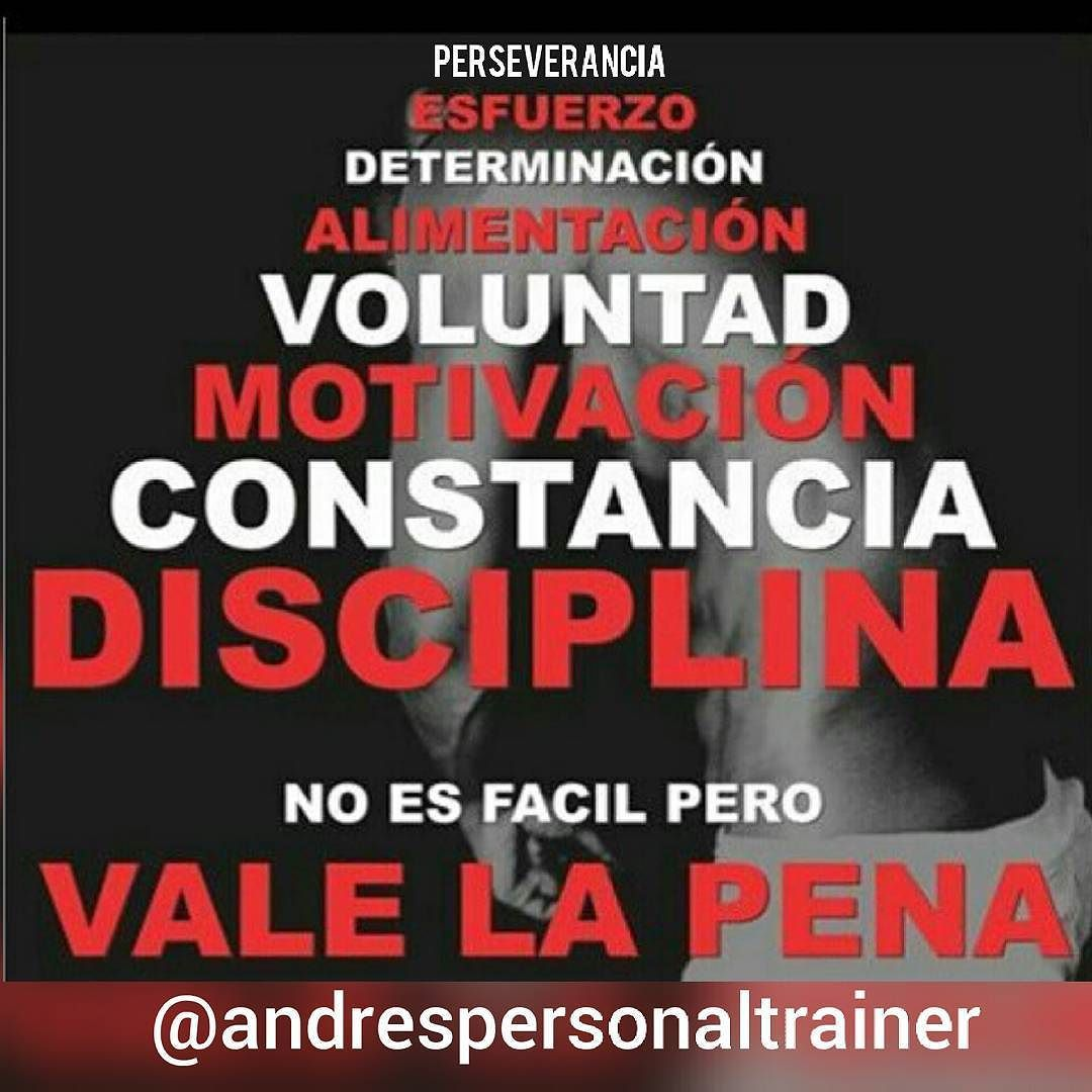 Perseverancia esfuerzo determinaci n alimentaci n voluntad for Mundo fitness gym