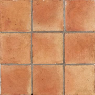Spanish Handmade Terracotta Tile mediterranean floor tiles