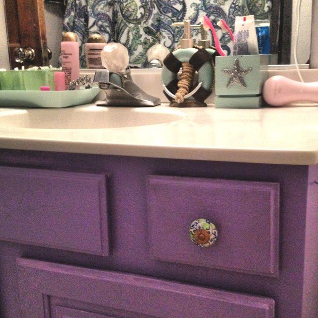 Girly Bathroom Decor: Girly Bathroom Makeover Post- Divorce. Home Decor. Trash