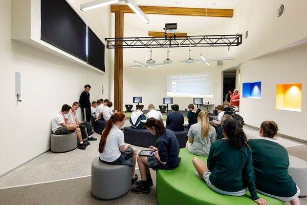 Modern Classroom Environment : Kiosc green school design by woods bagot architects the