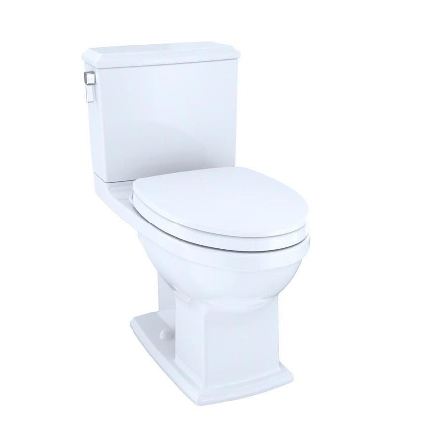 Toto Connelly Cotton White Watersense Dual Flush Langliche Stuhlhohe 2 Teilige Toilette 12 Zoll Rohgrosse Ms494124cemfg In 2020 Water Sense Water Heating Water Flow