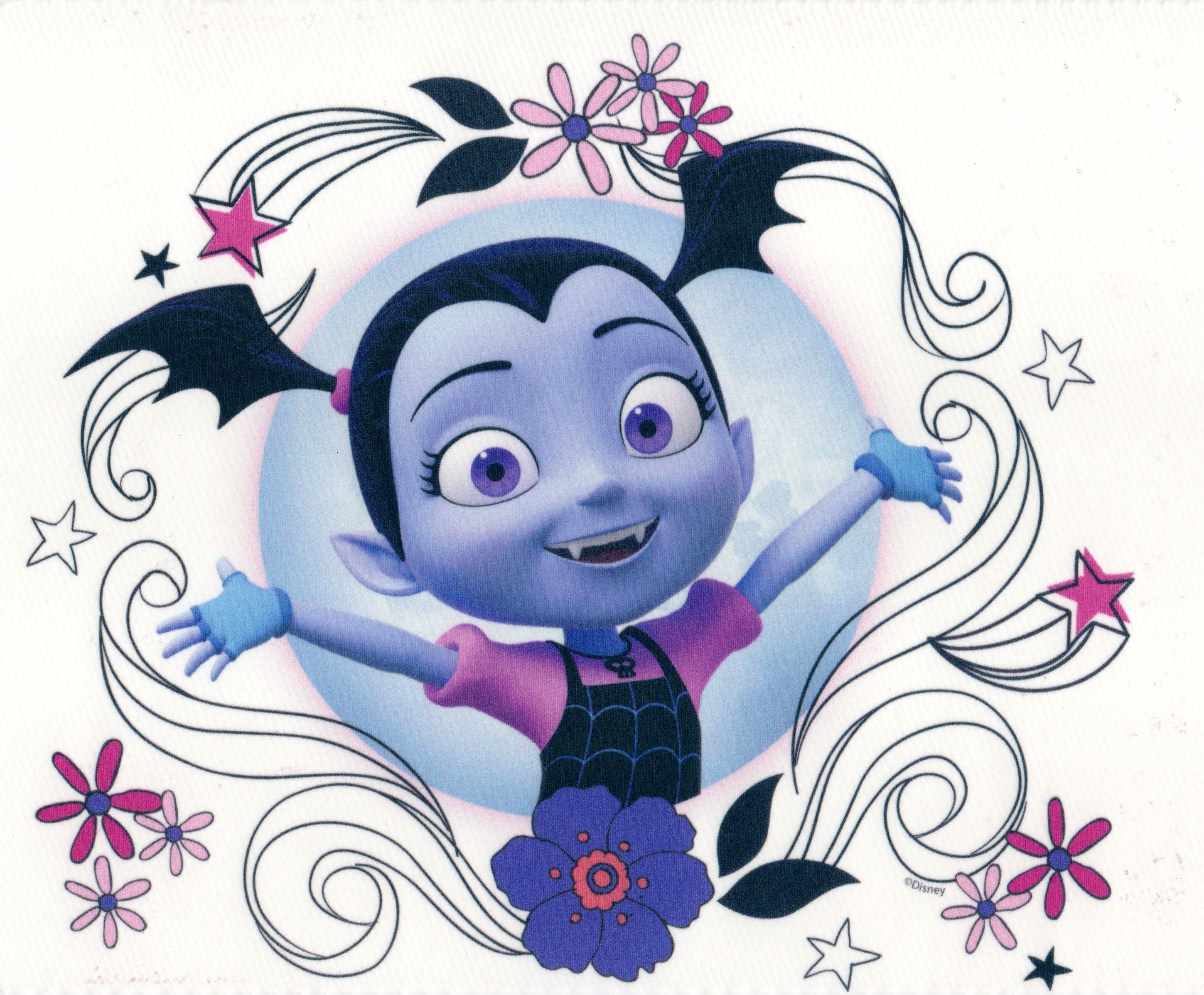 Vampirina Edible Icing Image For Cake Cupcake Or Cookie Topper Walmart Com Edible Icing Images 3rd Birthday Parties Easter Kids