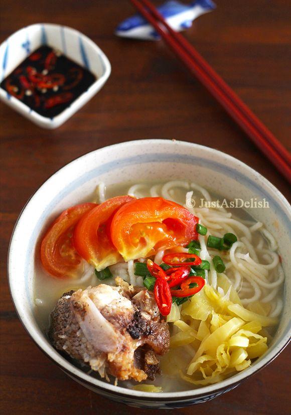 Mff Kl Selangor Fish Head Noodle Yu Tau Mai Recipe Authentic Chinese Recipes Asian Recipes Malaysian Food
