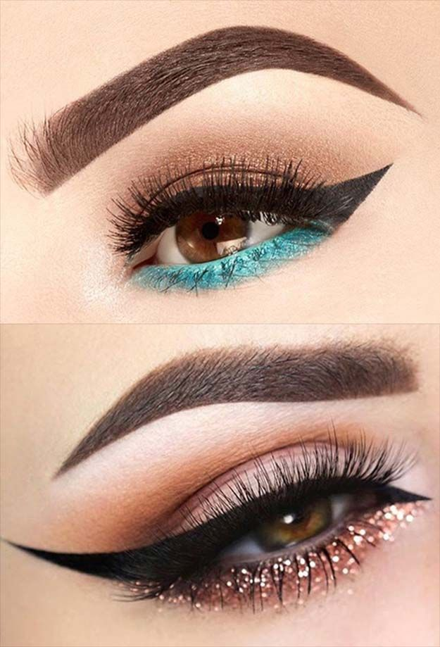 Winged Eyeliner With Pencil: Wow Effect With Winged Eyeliner