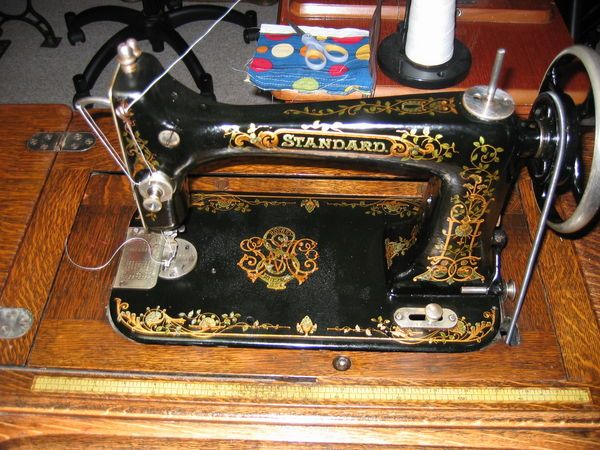 Early 40's Standard Rotary Sewing Machine Vintage Treadles Mesmerizing Standard Sewing Machine