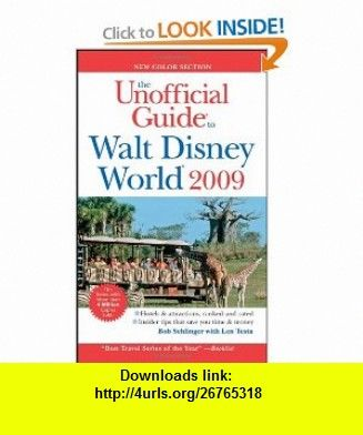 The unofficial guide walt disney world 2009 unofficial guides books fandeluxe Choice Image