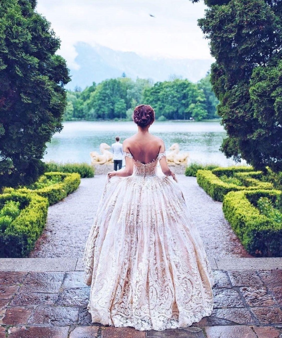 Pin von Lea Muster auf Weddings  Kleider hochzeit, Ballkleid