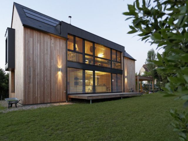 Une maison passive allie inspiration japonaise et performances - plan maison structure metallique