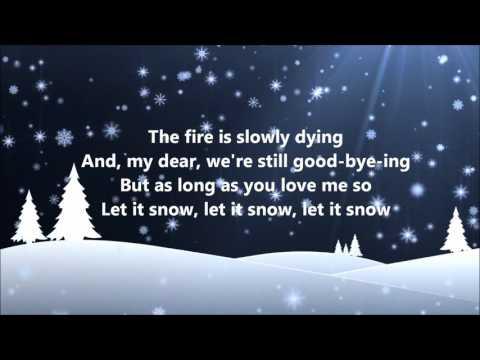 Dean Martin Let It Snow Lyrics Youtube Dean Martin Snow Lyrics Let It Snow Song