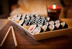 I want to try sushi, but I don't like fish... #isthatweird?