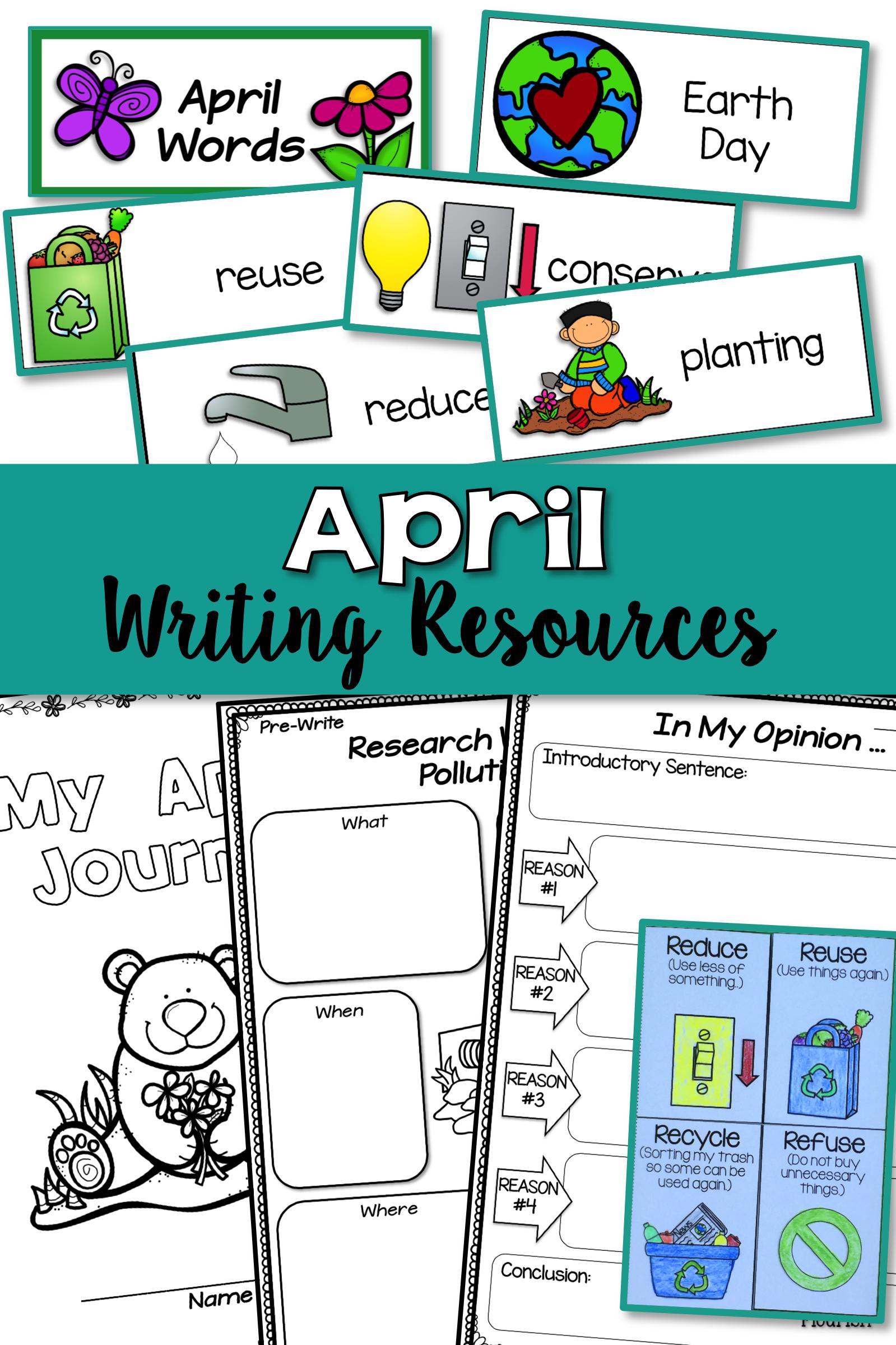 Paragraph Writing April
