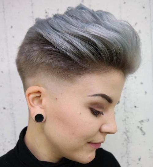 40 Short Haircuts For Girls With Added Oomph Girls Short Haircuts Short Fade Haircut Girl Haircuts