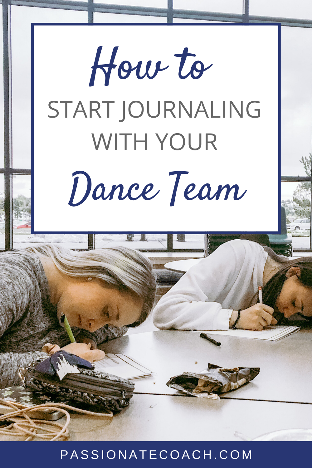 How To Start Journaling With Your Dance Team Passionate Coach In 2020 Dance Teams Dance Teacher Quotes Dance Coach
