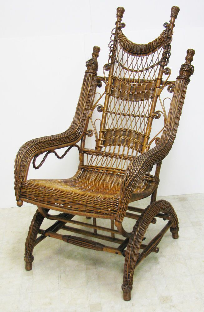 Peachy Ordway Platform Wicker Rocker May 1893 Very Good Dailytribune Chair Design For Home Dailytribuneorg