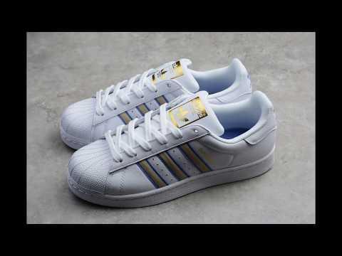 Adidas Superstar Adicolor Reflective Green YouTube
