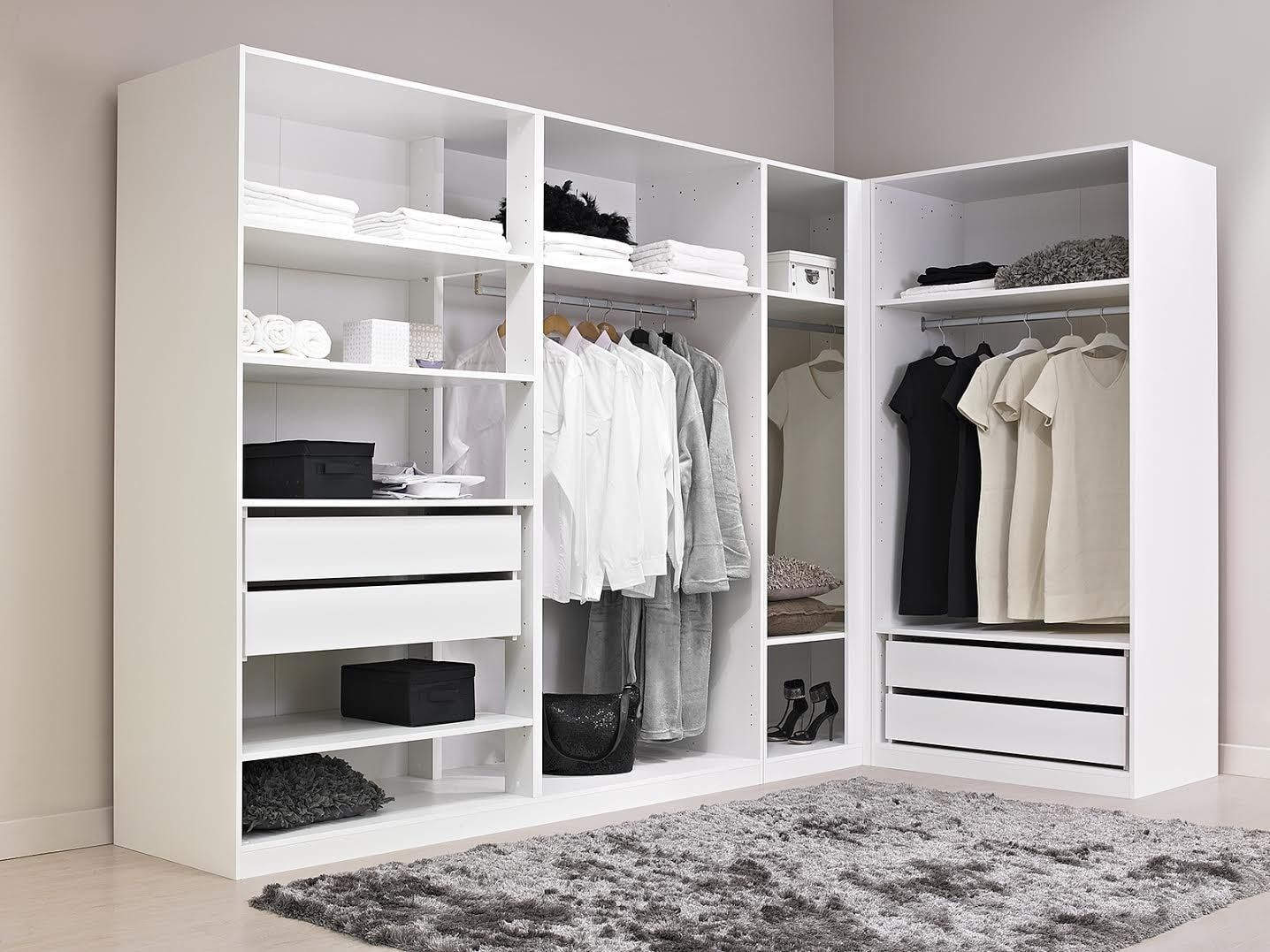 dressing d 39 angle alin a comment am nager un dressing d. Black Bedroom Furniture Sets. Home Design Ideas