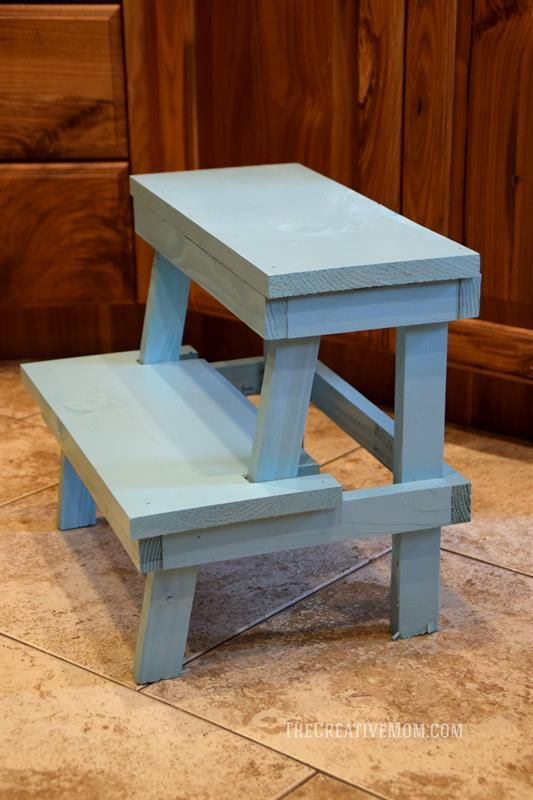 Marvelous This Simple Step Stool Is A Quick And Easy Build Great To Creativecarmelina Interior Chair Design Creativecarmelinacom