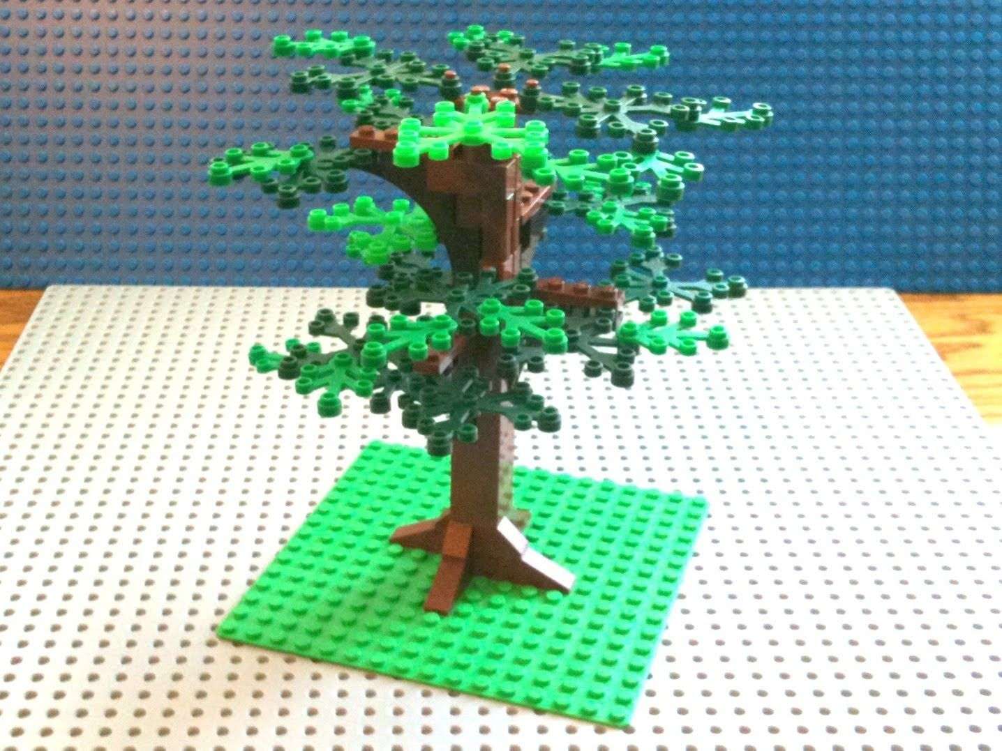 Tutorial Lego Oak Tree Cc Lego Idea Pinterest Oak Tree