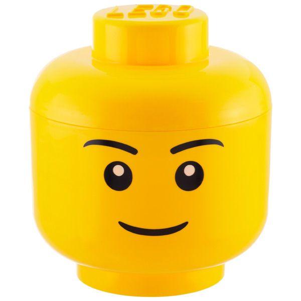 Lego Storage Heads By Lego Lego Storage Lego Storage Brick