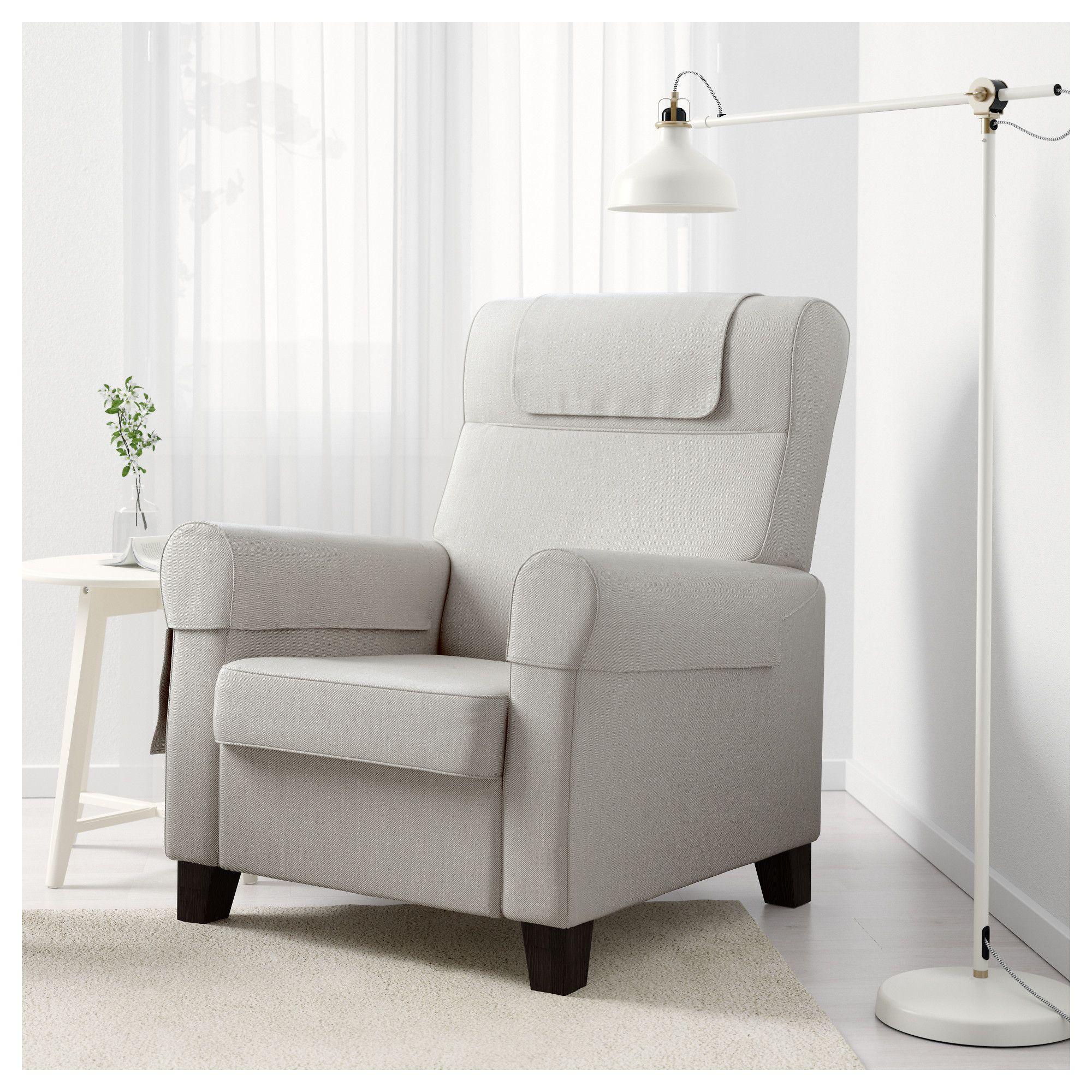 Ektorp Muren Fauteuil.Muren Recliner Nordvalla Beige Ikea Most Comfortable