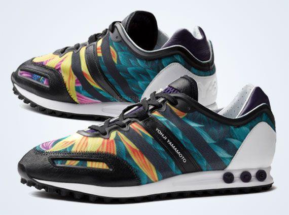 Adidas Y 3 La Trainer Sport Wear Stylish Men Nike Free Shoes