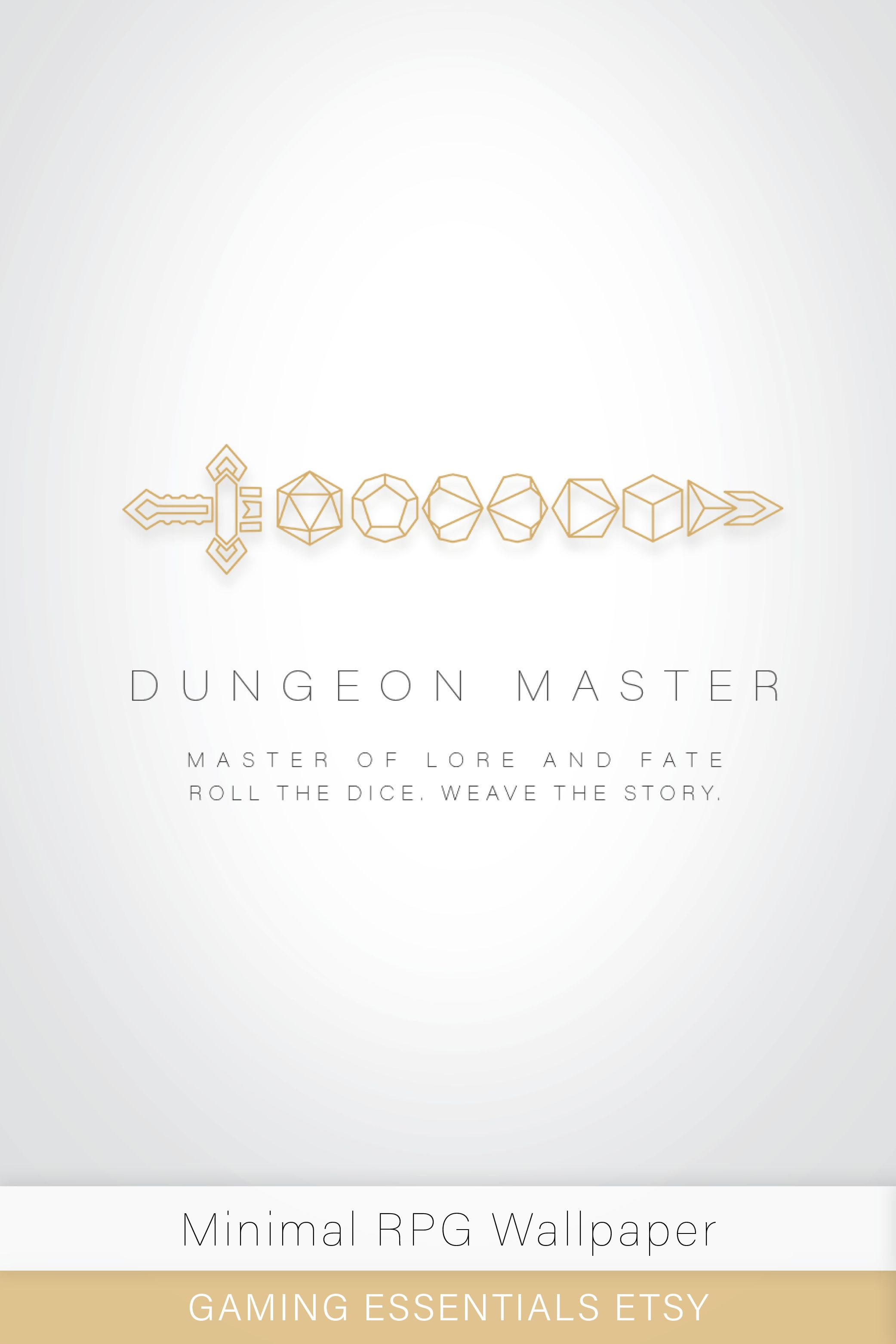 Dungeon Master Tabletop Rpg D D Wallpaper Background For Desktop Tablet Ipad Iphone Minimalist Artwork Dungeons And Dragons Minimalist Iphone Ipad Wallpaper Computer Wallpaper Desktop Wallpapers