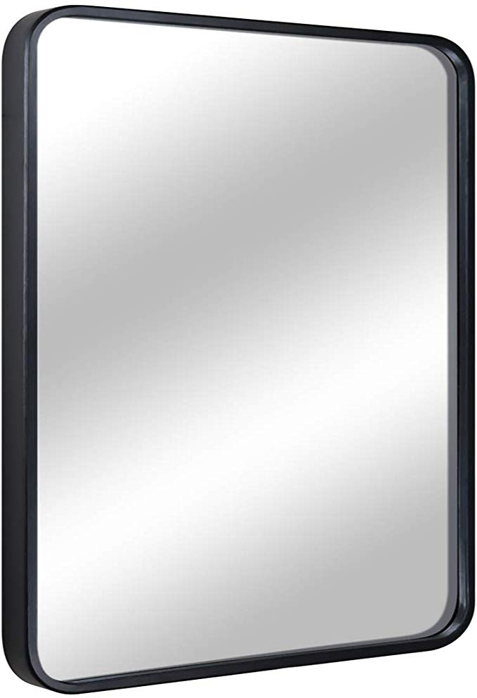 Amazon Com Eprica Bathroom Mirror For Wall Large Wall Mirror Black Rectangle Mirror 1 Metal Framed M Metal Frame Mirror Rectangle Mirror Large Wall Mirror