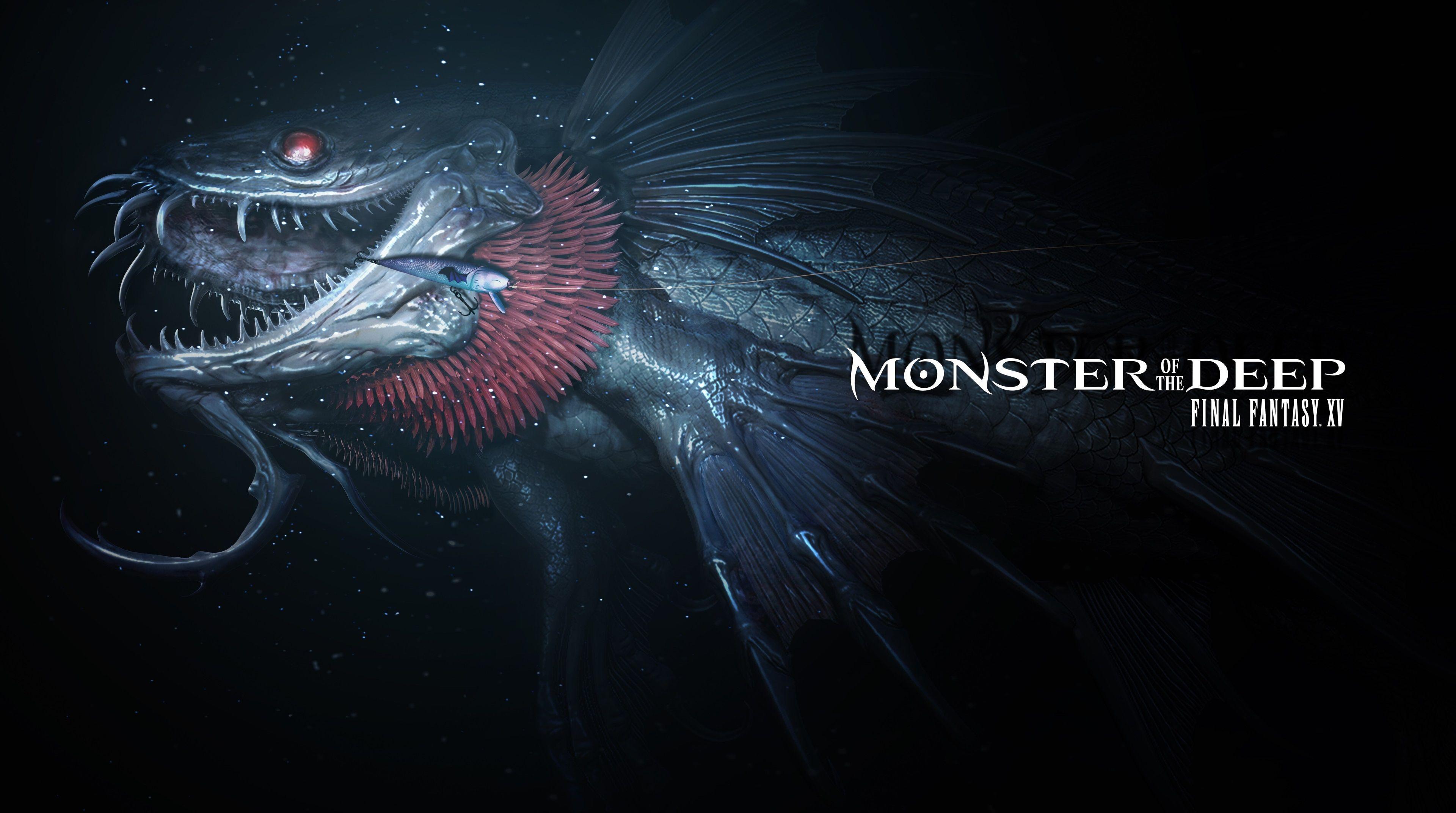 3840x2143 monster of the deep final fantasy xv 4k desktop