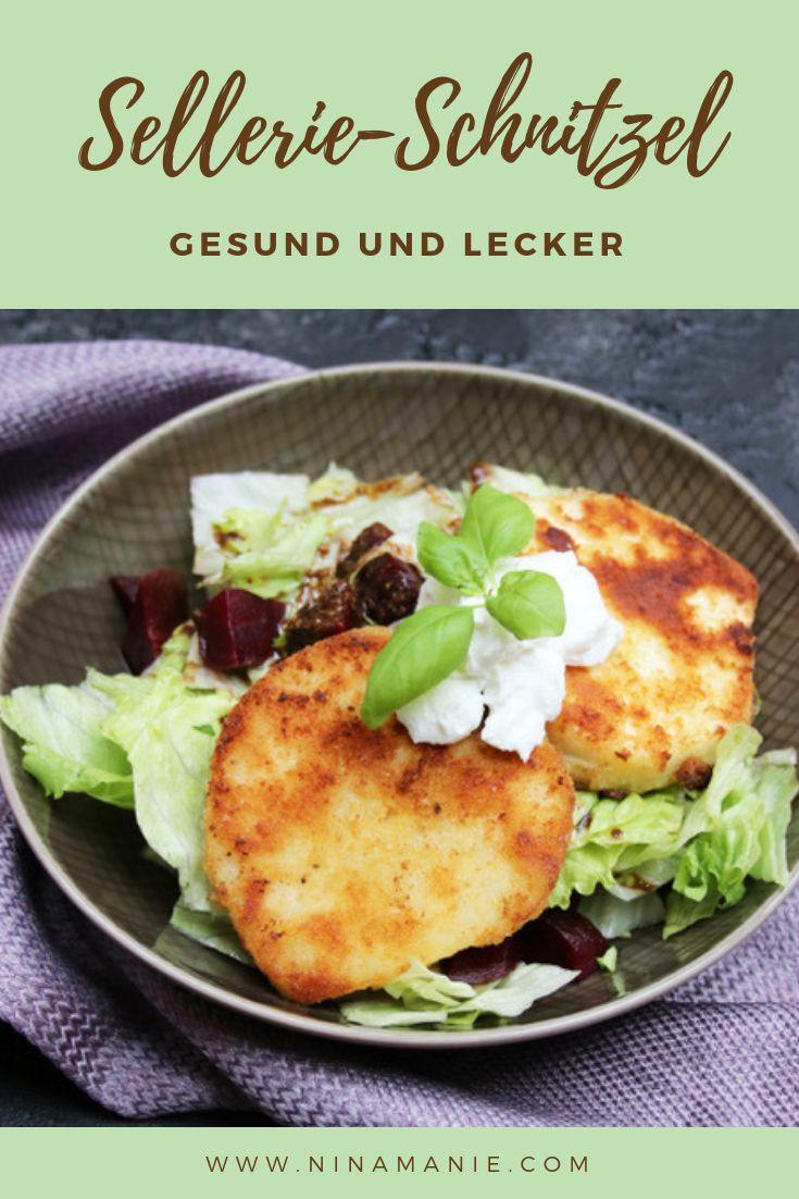 Sellerie-Schnitzel  #lowcarbveggies